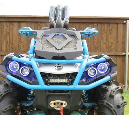 Warrior Riser Snorkel Kit by Snorkel Your ATV - Can Am Outlander XMR 570 |  650 | 800 | 850 | 1000