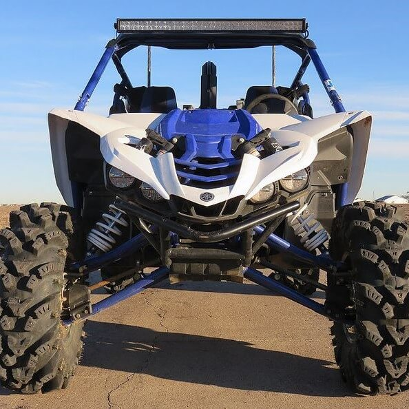 Warrior Riser Snorkel Kit by Snorkel Your ATV - 2016-18 Yamaha YXZ 1000 R