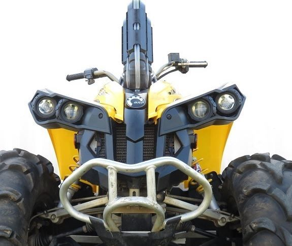 Can Am Renegade 800 >> Warrior Riser Snorkel Kit By Snorkel Your Atv 2007 11 Can Am Renegade 500 800
