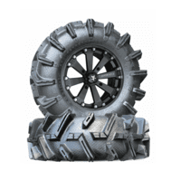 Textron Stampede Wheel and Tires