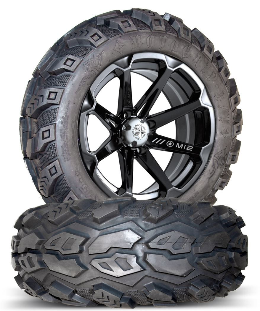 Polaris RZR 800 and RZR S 800 Wheels and Tires