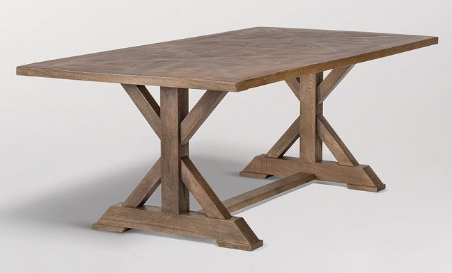 Alder And Tweed Bryant 84 Inch Dining Table