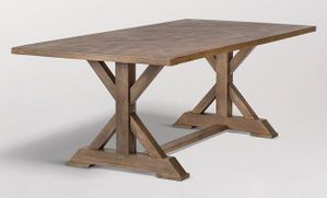 Alder and Tweed Bryant 84-inch Dining Table