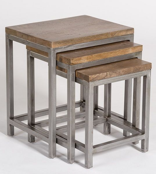 Alder and Tweed Gramercy Nesting Tables