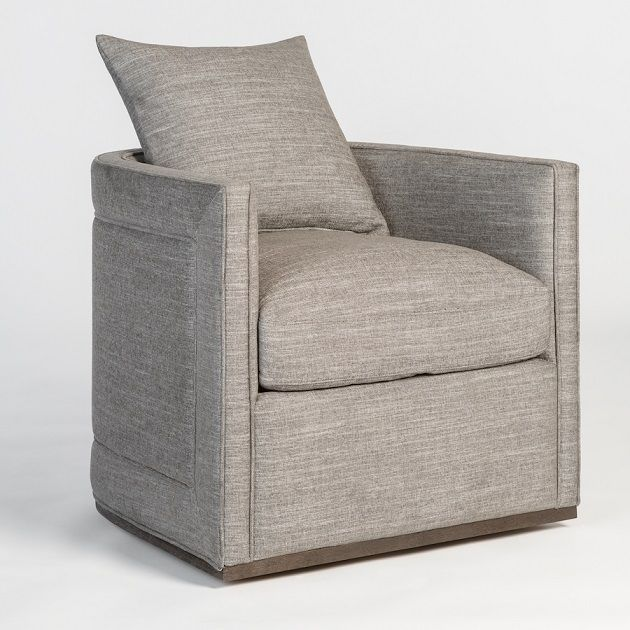 Alder and Tweed Landon Swivel Occasional Chair