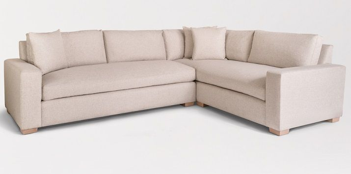 Alder And Tweed Monroe Sectional Sofa