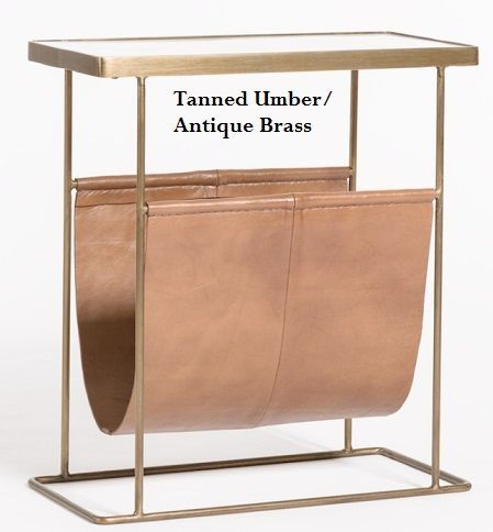 Alder and Tweed Stanton Accent Table