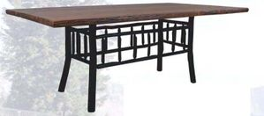 "American Rustic 96"" Dining Table"