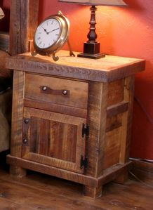 Black Mountain Nightstand with Door