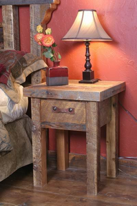 Black Mountain One-Drawer Nightstand