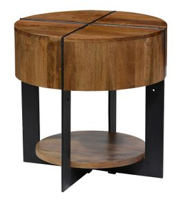 Classic Home Desmond Round End Table