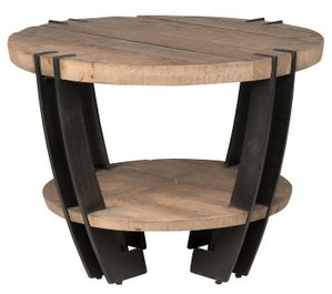 Classic Home Marcelo Round End Table