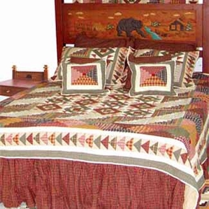 Country Roads Quilt Set