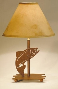 Desk Lamp with Fish