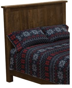Fireside Lodge Frontier Traditional Bed Headboard