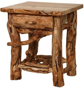 Grizzly 1-Drawer Nightstand