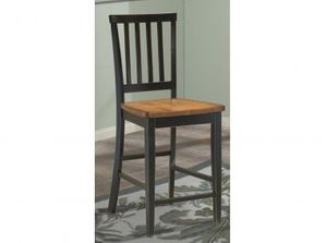 Intercon Arlington Slat-Back Bar/Counter Stool