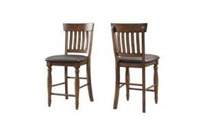 Intercon Kingston Slat-Back Counter Stool