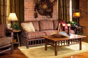Rustic Living Room Furniture Sets - LodgeCraft