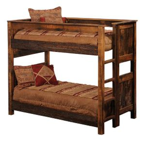 Rustic Log Bunk Beds Trundles Lodgecraft