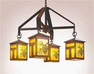 Mission Lake Chandelier - Small