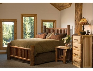 Mission Mountain Collection Log Furniture - Lodge Craft