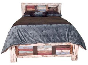 Montana Ranch Multi-Color Louvered Bed