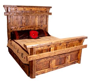 Montana Ranch Old Fashioned Bed