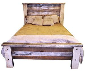 Montana Ranch Slatted Wood Bed
