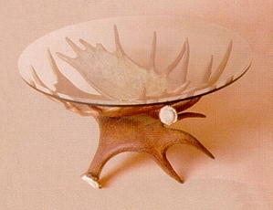 Moose Antler Coffee Table Base
