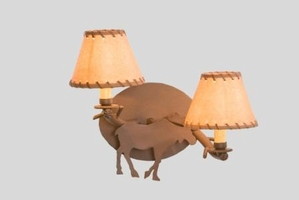 Moose Timber Sconce