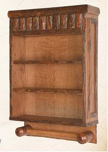 Old Hickory Bathroom Wall Cabinet