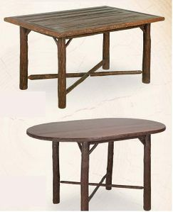 Old Hickory Gathering Table-36