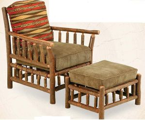 Grove Park Chair with Ottoman