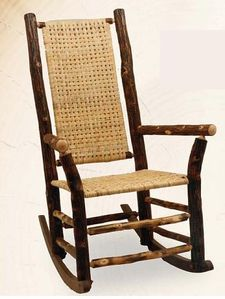 Old Hickory High Back Rocker-Indoor
