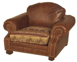 Roosevelt Chair with Ottoman