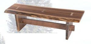 Old Hickory Yosemite Bench