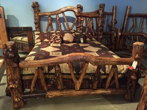 Oversize King Exotic Bed