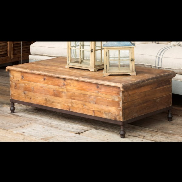 Park Hill Old Pine Trunk Coffee Table