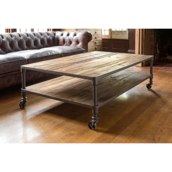 Park Hill Reclaimed Wood Coffee Table