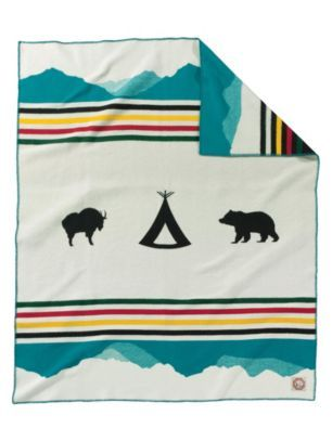 Pendleton Crown of the Continent Blanket Robe