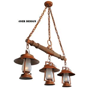 Sutter's Mill 49er Single Tree Mounted Lanterns