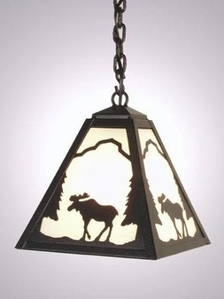 Timber Ridge Moose Pendant - Small
