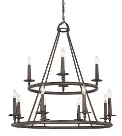 Voyager Chandelier, 12 - Candle