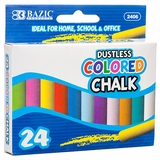 CHALK 24PC ASSORTED COLORS