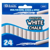 CHALK 24PC WHITE ONLY