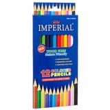 COLORED PENCIL WOOD FREE 12 CT ASSORTED COLORS