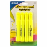 HIGHLIGHTER 3PC YELLOW COLOR
