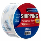 "PACKING TAPE SUPER CLEAR HEAVY DUTY 1.88"" X 54.6YD"