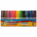 WASHABLE COLOR MARKERS - 30CT